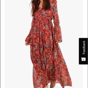 Boho Maxi Dress Brand New